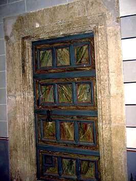 Puertolas for Encadrement de porte bois