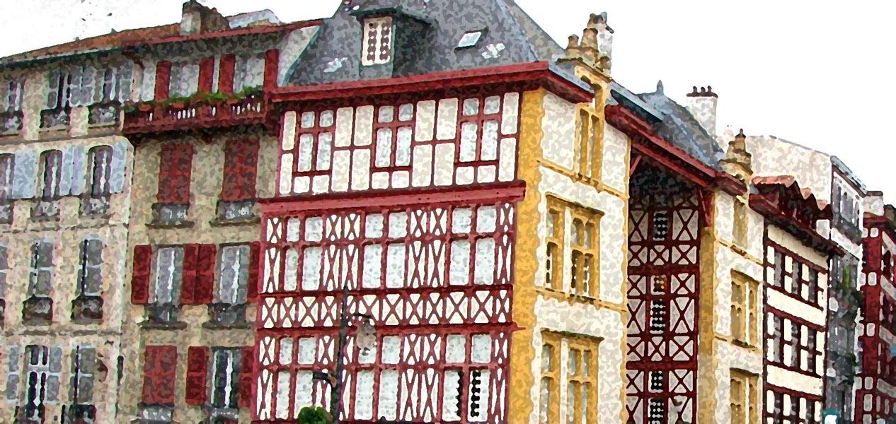 Bayonne par l 39 image for Maison sur bayonne