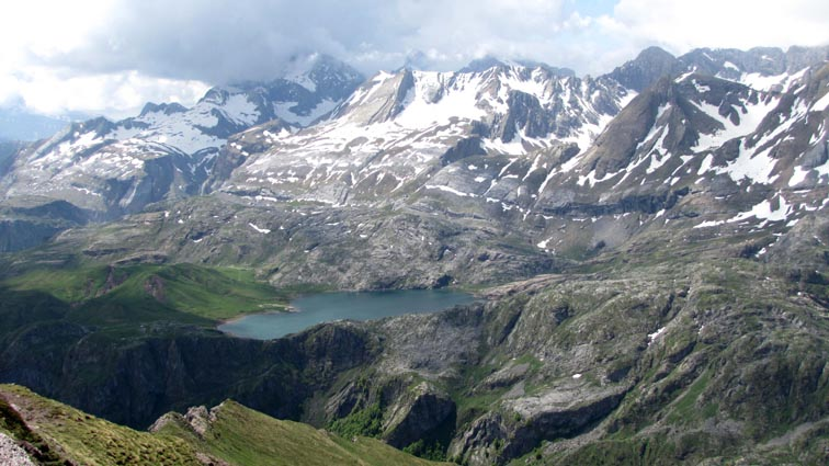 Lac d'Estaens.