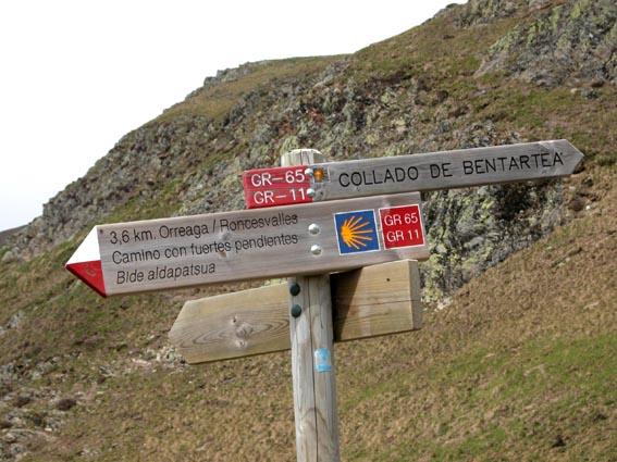 Saint jean pied de port roncevaux par le chemin de saint - Distance st jean pied de port st jacques de compostelle ...